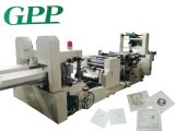 Máquina de alta velocidad de la fabricación de papel de la servilleta el grabar y de la impresión