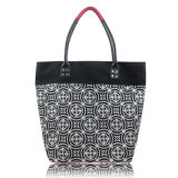 Floral con diseño de cuero PU de bolsos funcionales para las mujeres