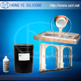 1 : 1 caoutchouc de silicones du remède RTV de platine pour le bâti de la colle