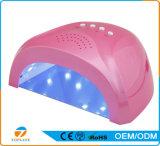 LED 못 UV 램프 빛 매니큐어 또는 Pedicure 못 건조기