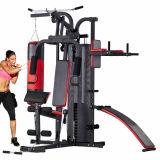 Machine complète de la gymnastique trois multi de station pour la formation