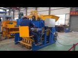 Ei-Legenstraßenbetoniermaschine-fester hohler Block, der Maschine herstellt