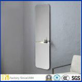 espejo de cristal de flotador de 2m m 3m m 4m m 5m m 6m m 8m m para la decoración de la pared del cuarto de baño