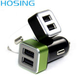2017人間の特徴をもつタブレットおよびSamsungの携帯電話のためにホースで水を掛けている二重USB車の充電器