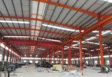 Niveau élevé préfabriqué de Long-Envergure de construction d'usine de structure métallique