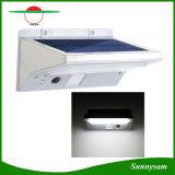 Il giardino solare esterno durevole illumina l'indicatore luminoso solare della parete di movimento 21LED con l'indicatore luminoso di indicatore di funzionamento di modo per l'iarda del percorso