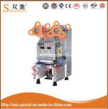 Máquina completamente automática popular Sc-Q70 del lacre de la taza