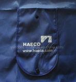 Spécialisé dans la fabrication de sac à provisions recyclé plié promotionnel