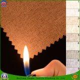 Сплетенное тканьем пламя полиэфира ткани водоустойчивое - retardant ткань занавеса светомаскировки для окна гостиницы