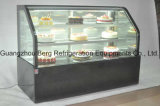 Ijskast de van uitstekende kwaliteit van de Vertoning van de Cake van de Deur van het Glas met Ce