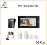 Телефон двери дверного звонока IP внутренной связи WiFi видео- для виллы