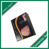Drucken-kundenspezifischer preiswerter Pappfleisch-Kasten