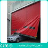 Sistemas rápidos autorreparadores de la puerta de la tela del PVC para el almacén
