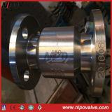 Clapet anti-retour modifié de gicleur en acier d'écoulement axial