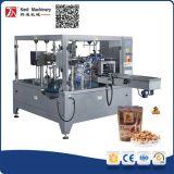 China-Fertigung Kedi Drehverpackungsmaschine mit Reißverschluss-Beutel