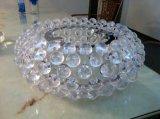 명확한 플라스틱 공 테이블 램프 Bl 330 호텔 점화