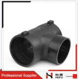 Types garnitures de HDPE de pipe en plastique de drain sanitaire de l'eau de té