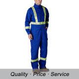 工場こんにちは気力のWorkwearの綿の人のための保護安全つなぎ服