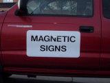 Magneten de van uitstekende kwaliteit van de Deur van de Auto en Magnetische Tekens met de Druk van de volledig-Kleur