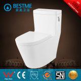 Accessoires en laiton de salle de bains de toilette fixée au mur ronde