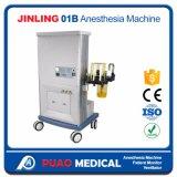 Máquina chinesa da anestesia do modelo padrão de Jinling-01b