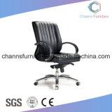 方法Chromの金属白いマネージャの革張りのいすのオフィス用家具