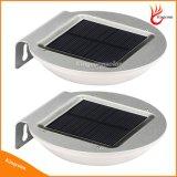 Indicatore luminoso solare esterno chiaro solare solare del giardino del sensore di movimento del radar di a microonde della lampada dei 16 LED