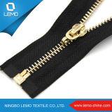 Zipper de cadeia longa de metal de tamanho diferente