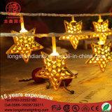LED 220Vの星String Belt クリスマスのRamadanの装飾の照明のためのライト