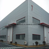Moderner Entwurfs-Stahlkonstruktion-Werkstatt mit BV-Bescheinigung