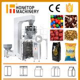 Máquina de embalagem vertical soprada automática do petisco Nuts do alimento