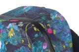La mode 600d estampé par fleur TPU imperméabilisent le sac à dos sec (YKY7306)