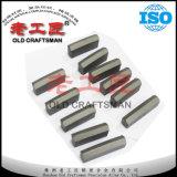 Extremidades brillantes de la perforación del carburo cementado del tungsteno del cincel K40