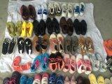Erstklassige Qualitätszweite Handschuhe verwendeten Mann-Schuhe/zweite Handfrauen-Schuhe
