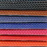 上の販売の静かに耐久の総合的な編まれたハンドバッグの革(CF5120)