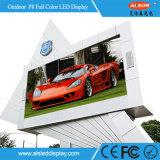 屋外の固定SMDフルカラーLEDの壁を広告するP8