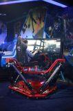 Raceauto van de Simulator van de Motie van de Machines van de Spelen van de Arcade van Mantong de Muntstuk In werking gestelde
