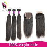 Fechamento divisor livre do laço do cabelo boémio do Virgin da qualidade