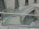 Селитебный крытый поручень лестницы балкона нержавеющей стали для лестниц