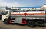 Цена тележки топливозаправщика топлива сбывания тележки 120HP масла Dongfeng LHD Rhd 8kl горячее