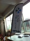 Подгонянный флаг летания пера пляжа Teardrop Поляк стеклоткани (SU-FG8)