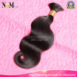 Unprocessed Sew in Hair Brazilian Body Wave / Straight Human Synthetic Hair Weft