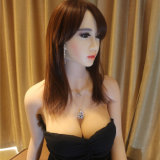 158 кукол секса Shemale силикона маленьких девочек Built-in реалистических кукол реальных