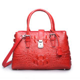 Lady Designer Crocodile Handbag Mk Genuine Leather Fashion Tote Bag