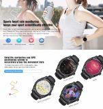 D7 relógio esperto Android4.4 Bluetooth 4.0 Smartwatches 500 do monitor portátil da frequência cardíaca do mAh GPS WiFi 3G dispositivos espertos