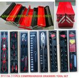 Juego profesional de 111PCS barato Hierro caja de herramienta (FY111A)