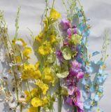 Flores falsas de seda de las flores artificiales para la decoración casera de la boda