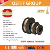 """0.8mm (0.030 """")のプラスチックスプールD2270/D300中国ミグ溶接ワイヤー(ER70S-6)"""