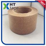 El lacre de calidad superior del papel de Kraft sujeta con cinta adhesiva el papel de Kraft reforzado fibra