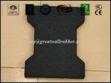 Gleitschutzim freienhundeknochen-Form-Gummifußboden-Ziegelstein-Fliese